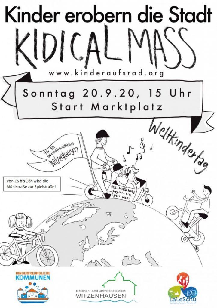 KidicalMass am 20.9. in Witzenhausen