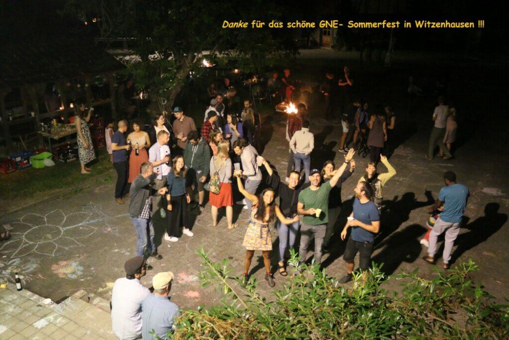Sommerfest zum 20-jährigen Bestehen der GNE